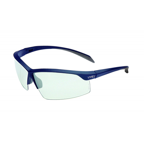 Honeywell Relentless Safety Eyewear with Dark Gray Frame, Clear Lens, Scratch-Resistant Hardcoat Lens Coating - RWS-51057