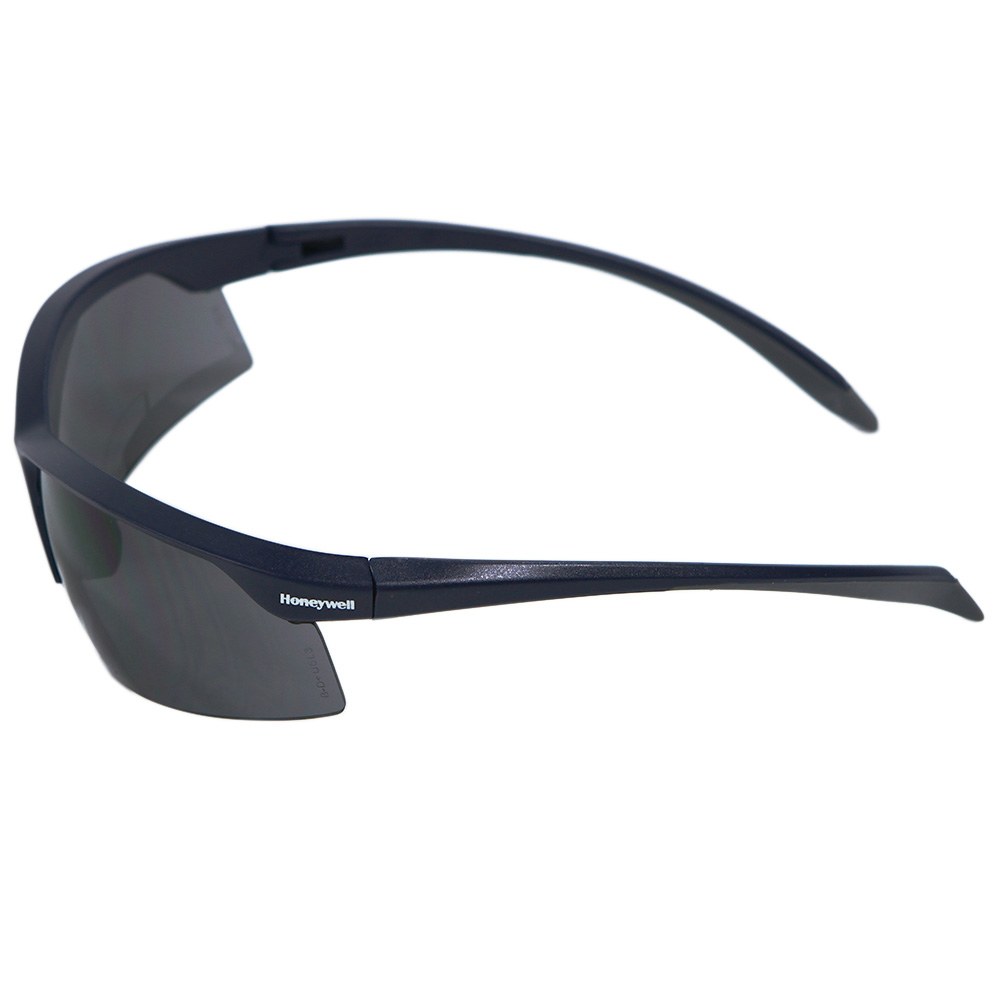 Honeywell Relentless Safety Eyewear with Dark Gray Frame, Gray Lens, Scratch-Resistant Hardcoat Lens Coating - RWS-51058