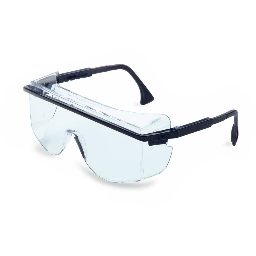 Honeywell OTG (Over-the-Glass) Spectacle, Clear Frame, Clear Lens, Scratch-Resistant Hardcoat Lens Coating - RWS-51062