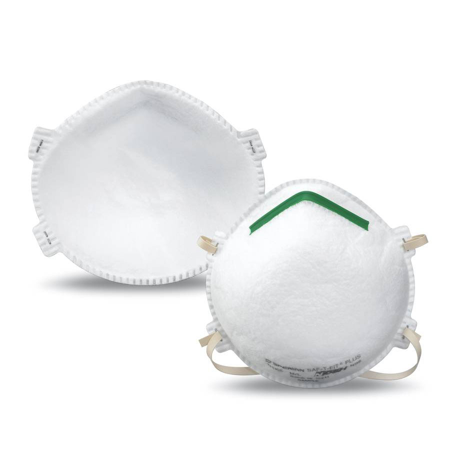 Honeywell Sperian Saf-T-Fit Plus N95 Disposable Respirator, 2-pack - RWS-54002