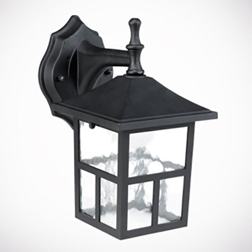 Honeywell LED Outdoor Wall Mount Lantern Light, 3000K, 625 Lumens, SS03A1-08