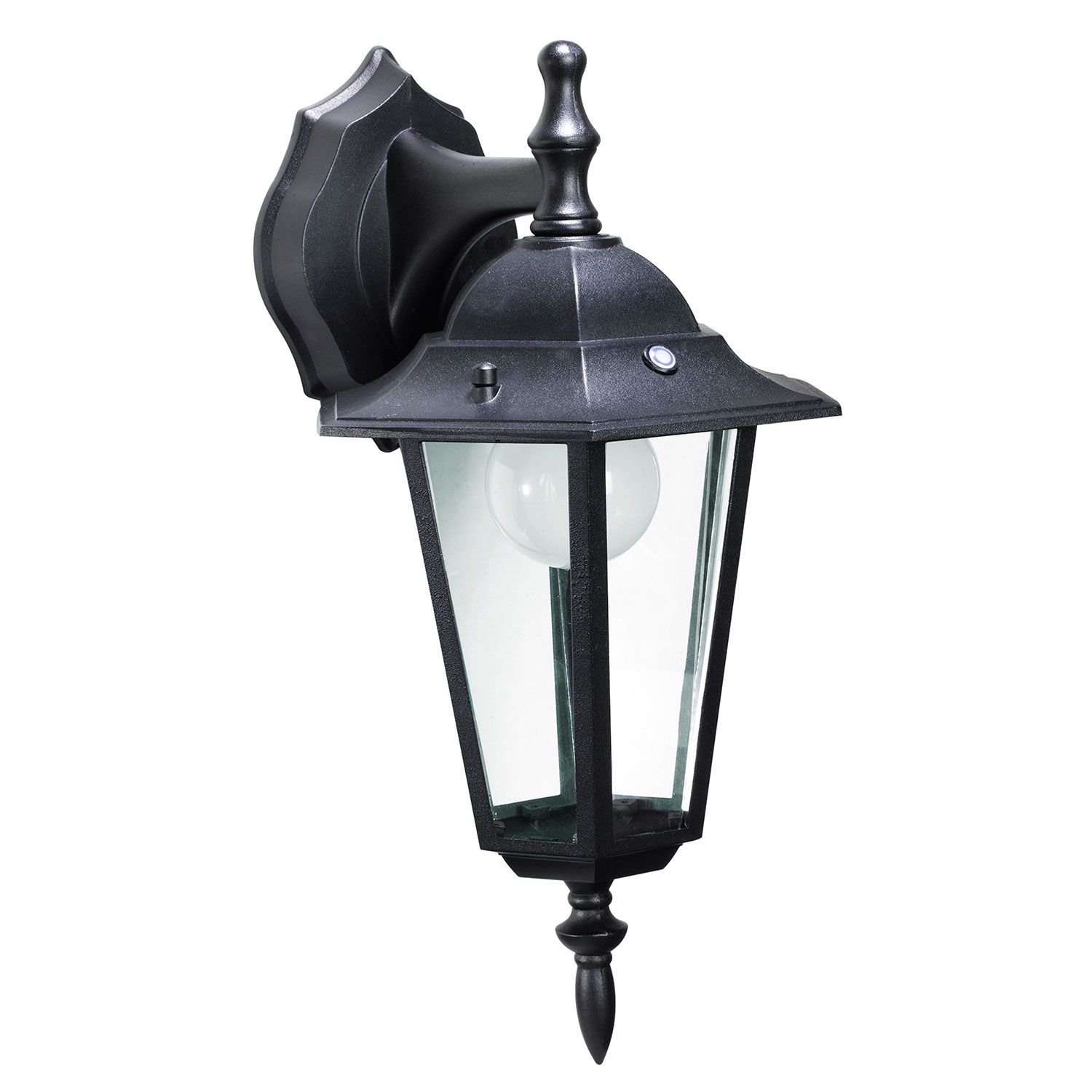honeywell ss0601 08 led outdoor wall mount lantern light 3000k 400 lumens honeywell store. Black Bedroom Furniture Sets. Home Design Ideas