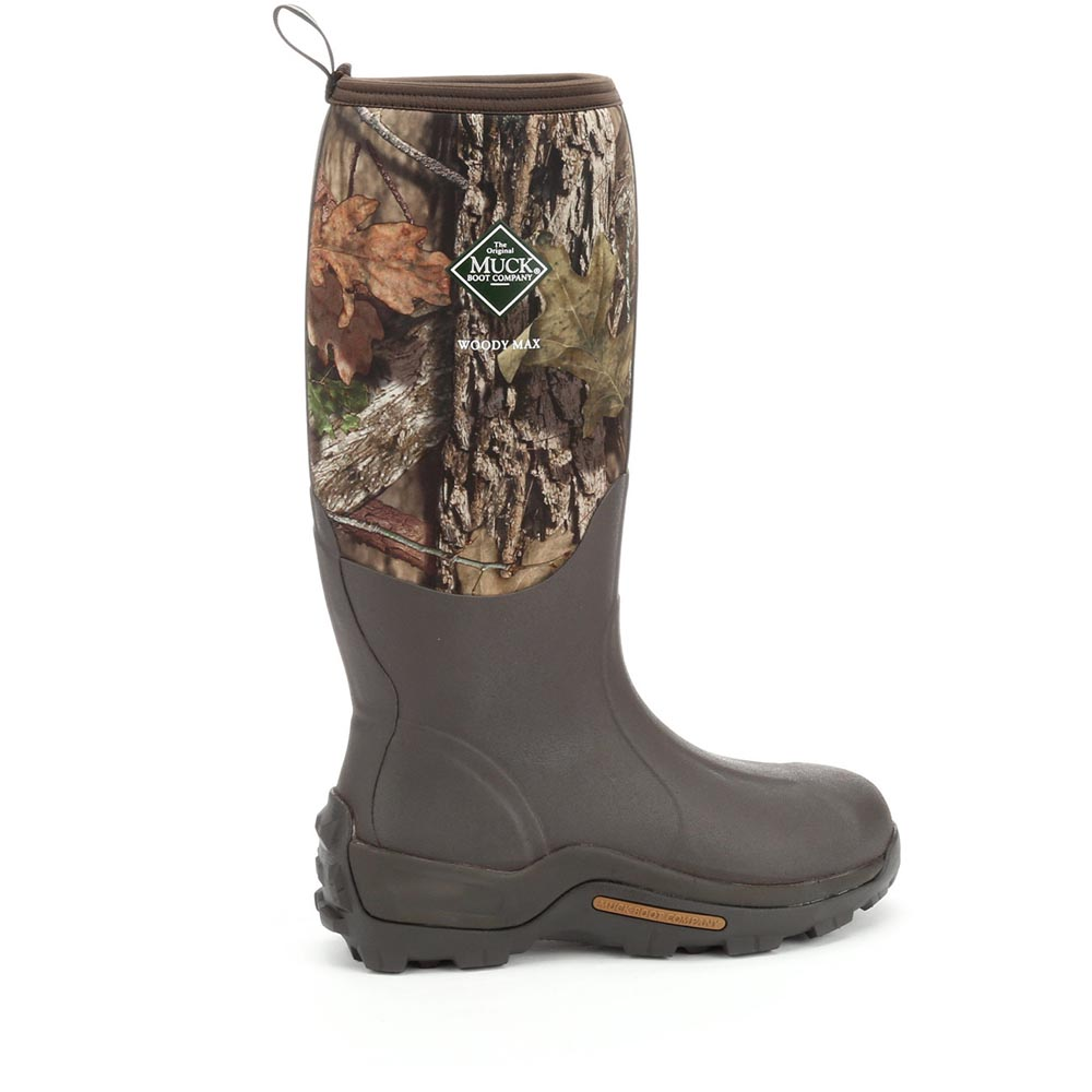 Muck Boots Woody Max Cold Conditions Hunting Boot, Mossy Oak Country, WDM-MOCT