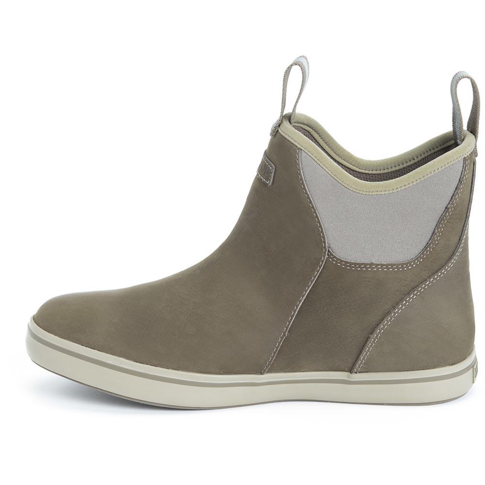 XTRATUF Men's Leather Ankle Deck Boot, Taupe - XAL-901