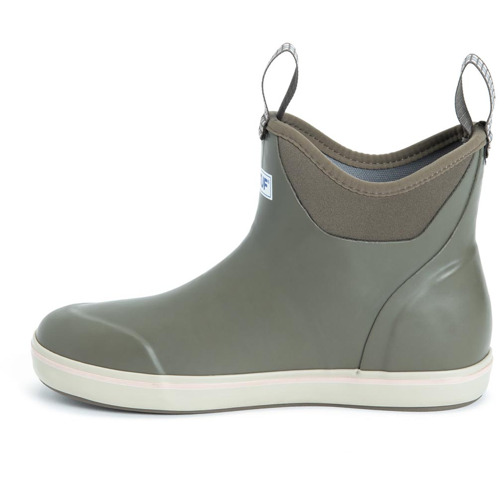 XTRATUF Women's 6 In Ankle Deck Boot, Taupe - XWAB-901