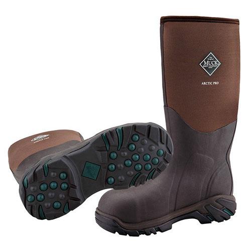 Muck Arctic Pro Steel Toe Boot, Bark