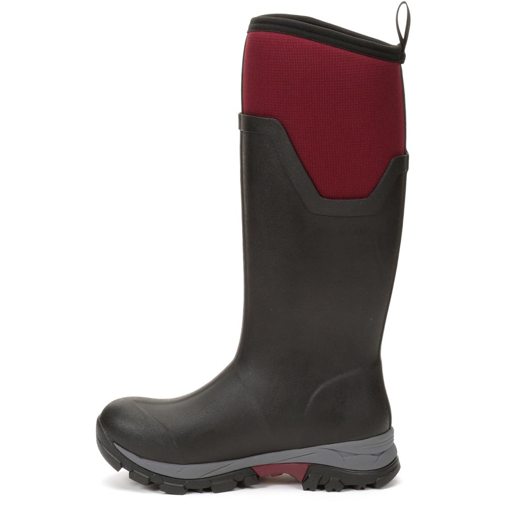 Muck Boots ARCTIC ICE TALL Ladies Womens Waterproof Rubber Wellington Boots Red