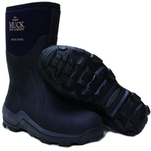 Muck Boot Arctic Sport Extreme Conditions Sport Boot Mid, Black, ASM-000A