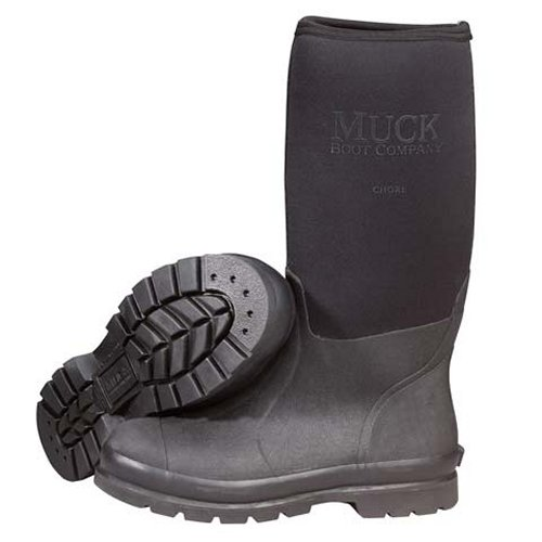 Muck Boot Chore Hi All-Conditions Work Boot, Black, CHH-000A