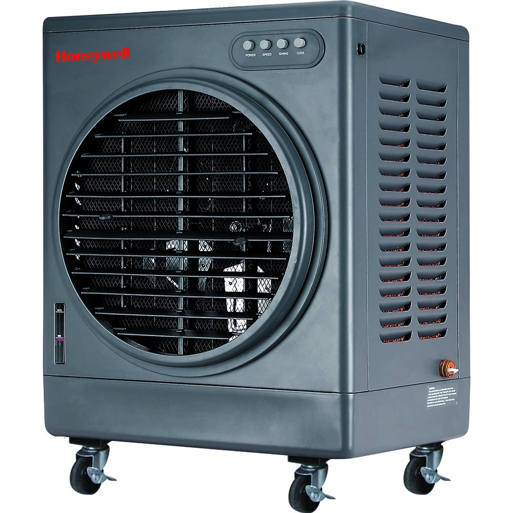 Air Handling Evaporative Cooling : Honeywell co mm evaporative air cooler indoor and