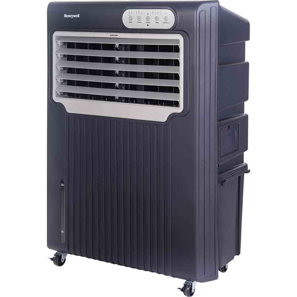 honeywell co70pe 70 liter outdoor portable evaporative air cooler with remote control grey