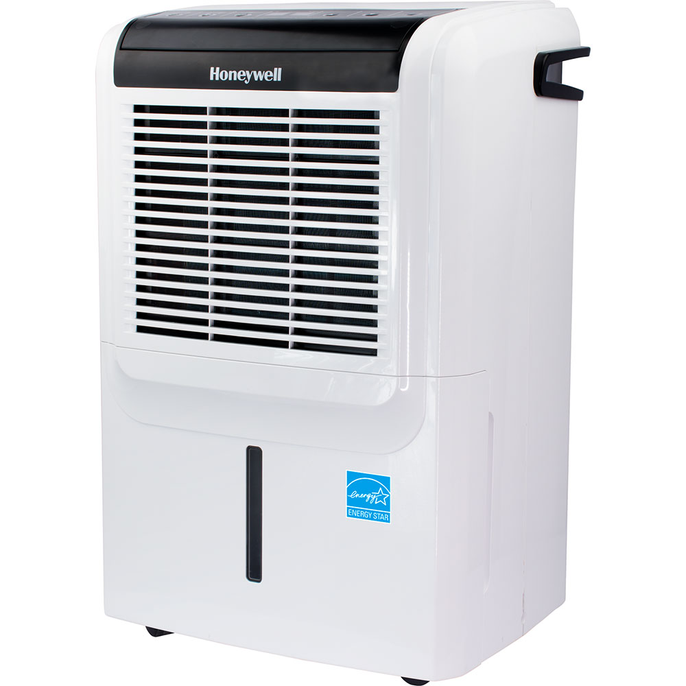Honeywell DH50PW 50 Pint Energy Star Dehumidifier With