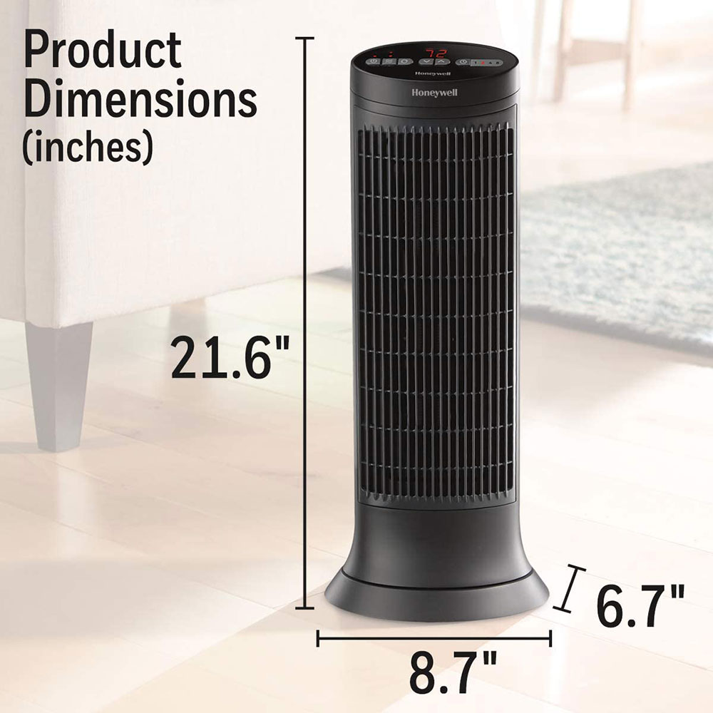 Honeywell Digital Ceramic Tower Heater, HCE322V