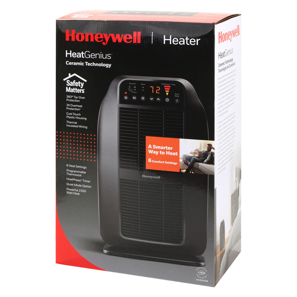 Honeywell HeatGenius Ceramic Portable Heater, HCE840B