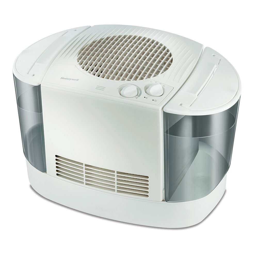 Honeywell Hev685w Evaporative Filtered Cool Moisture Humidifier In White Honeywell Store