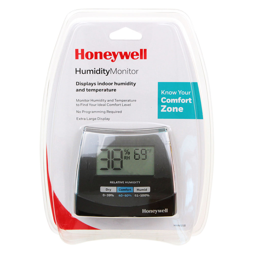 Honeywell Humidity Monitor With Digital Display, HHM10B