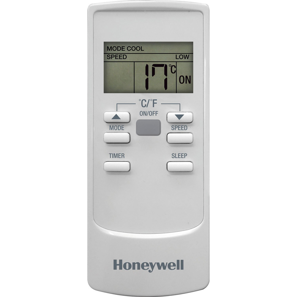Honeywell HL10CESWW Portable Air Conditioner 10,000 BTU Cooling, LED Display, Single Hose (All White)