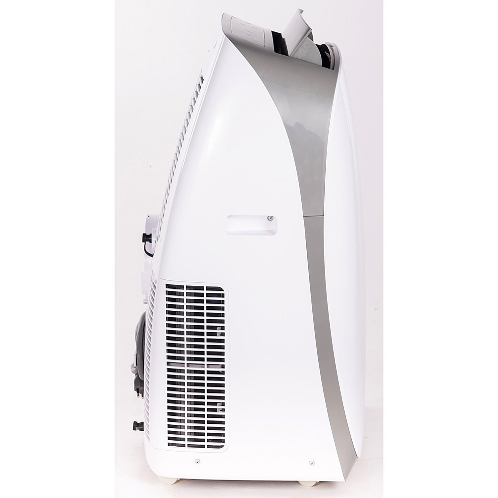 Honeywell HL14CESWG Portable Air Conditioner 14,000 BTU Cooling, LED Display, Single Hose (White-Grey)
