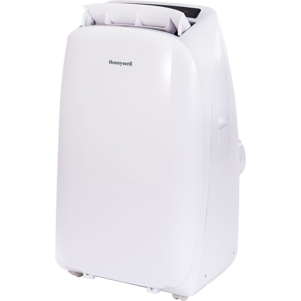 Honeywell HL14CHESWW Portable Air Conditioner 14,000 BTU Cooling & Heating, LED Display, Single Hose (White)