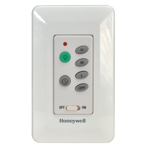 Honeywell Wall-Mounted Ceiling Fan Remote, Model 40014