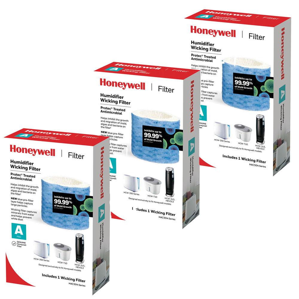 Pack de 6 Humidificateur-Filtre de remplacement pour Honeywell HAC-504