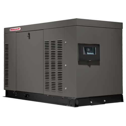Honeywell HG02724 Liquid Cooled 27/25 kW Home Standby Generator (SCAQMD Compliant)