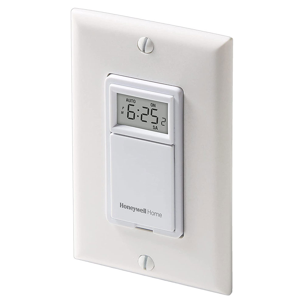 Honeywell Programmable Light Switch Timers, Automatic Lights, and 7-day Programmable Light ...