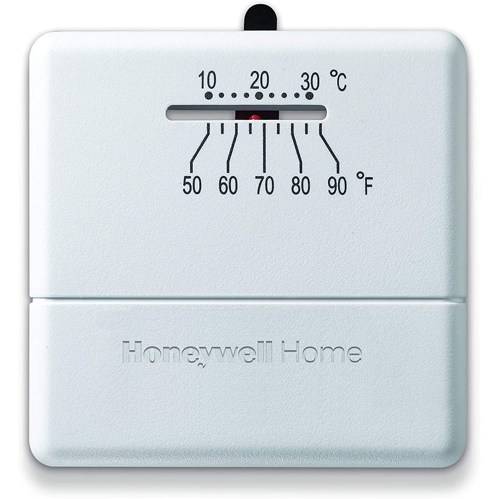Honeywell Thermostat Ct31a1003 Wiring Diagram 45 Heating Cooling Thermostats Yct30a1003 Heat Only Non Programmable