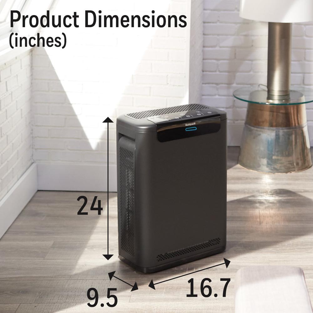 Honeywell Professional Series True HEPA Air Purifier, HPA600B