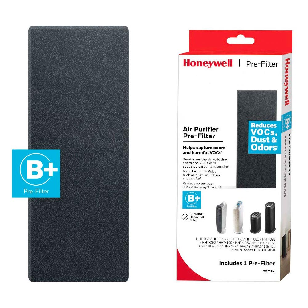 Honeywell Filter B Household Odor & Gas Reducing Pre-filter - HRF-B1