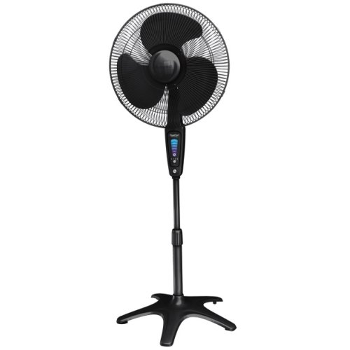 "The Honeywell HS-1655 QuietSet 16"" Stand Fan - Black ..."