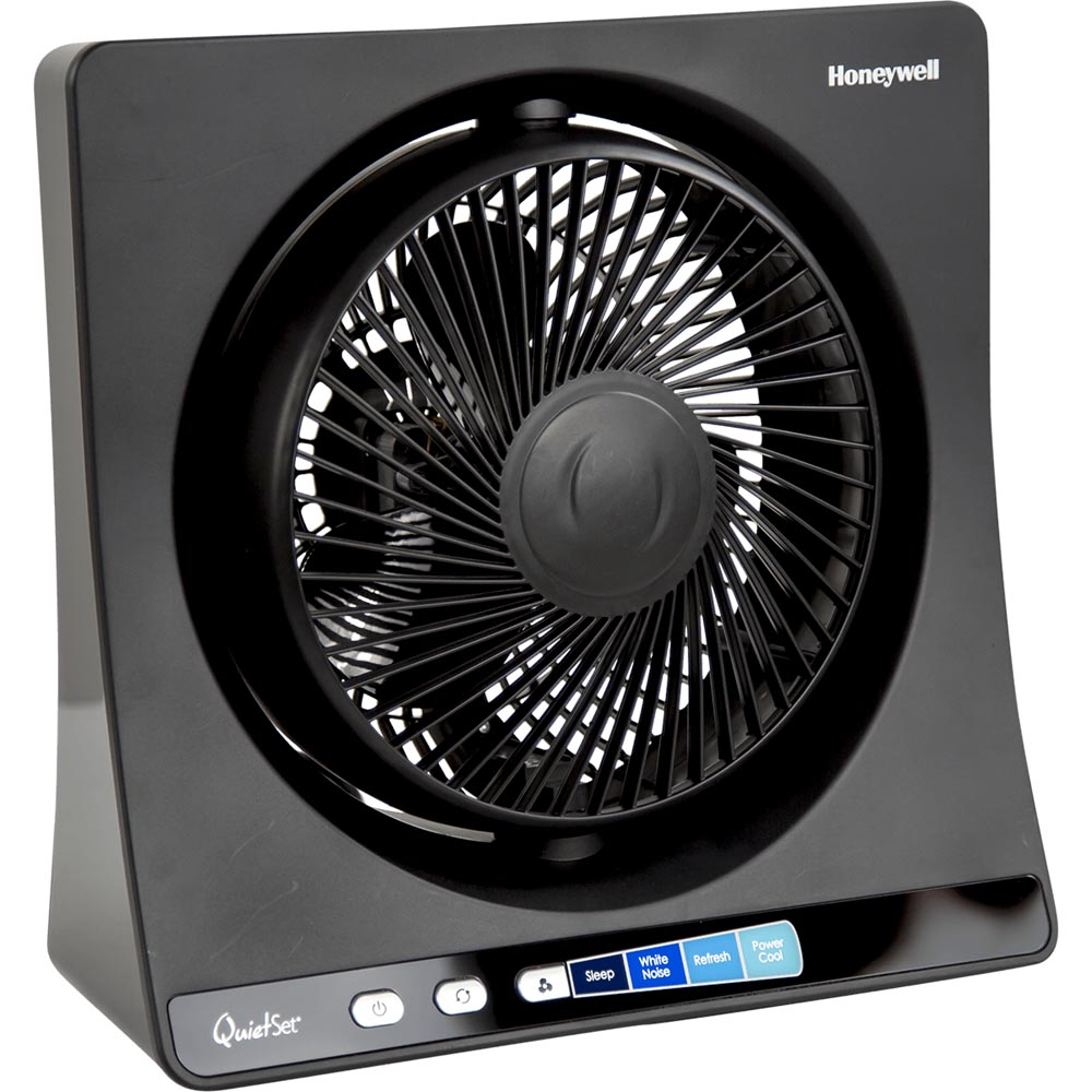 honeywell ht350b quietset table oscillating fan. Black Bedroom Furniture Sets. Home Design Ideas