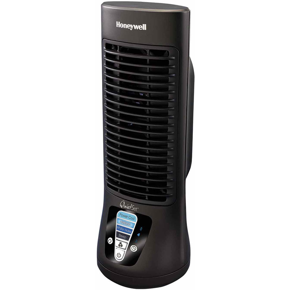 Honeywell Htf210b Quietset Mini Tower Table Fan