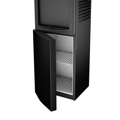 Honeywell 38-Inch Freestanding Toploading Water Cooler, Hot & Cold Temperatures with Thermostat Control, Black - HWB1052B2