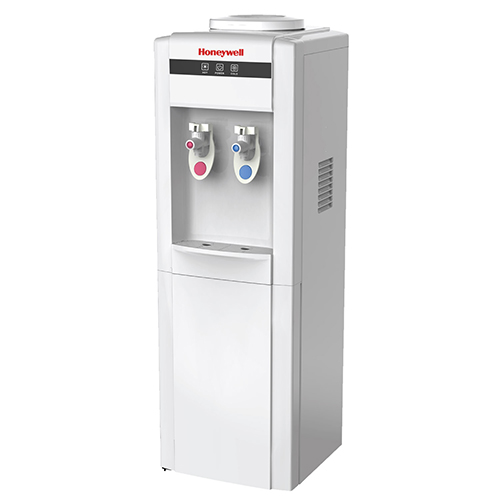 Honeywell 39-Inch Freestanding Toploading Water Cooler Dispenser, Hot and Cold Temperatures, White - HWB1052W2