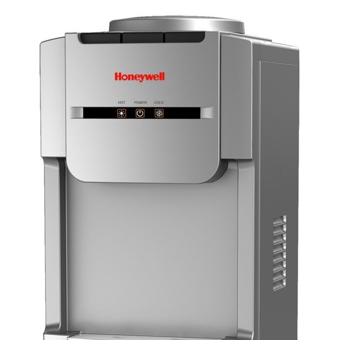 Honeywell 38-Inch Freestanding Toploading Water Cooler Dispenser, Silver - HWB1073S