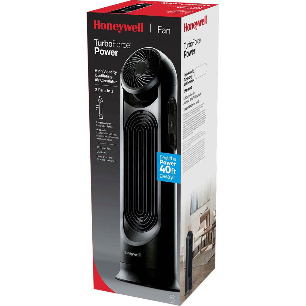 Honeywell TurboForce Air Circulator & Power Tower Fan, HYF500