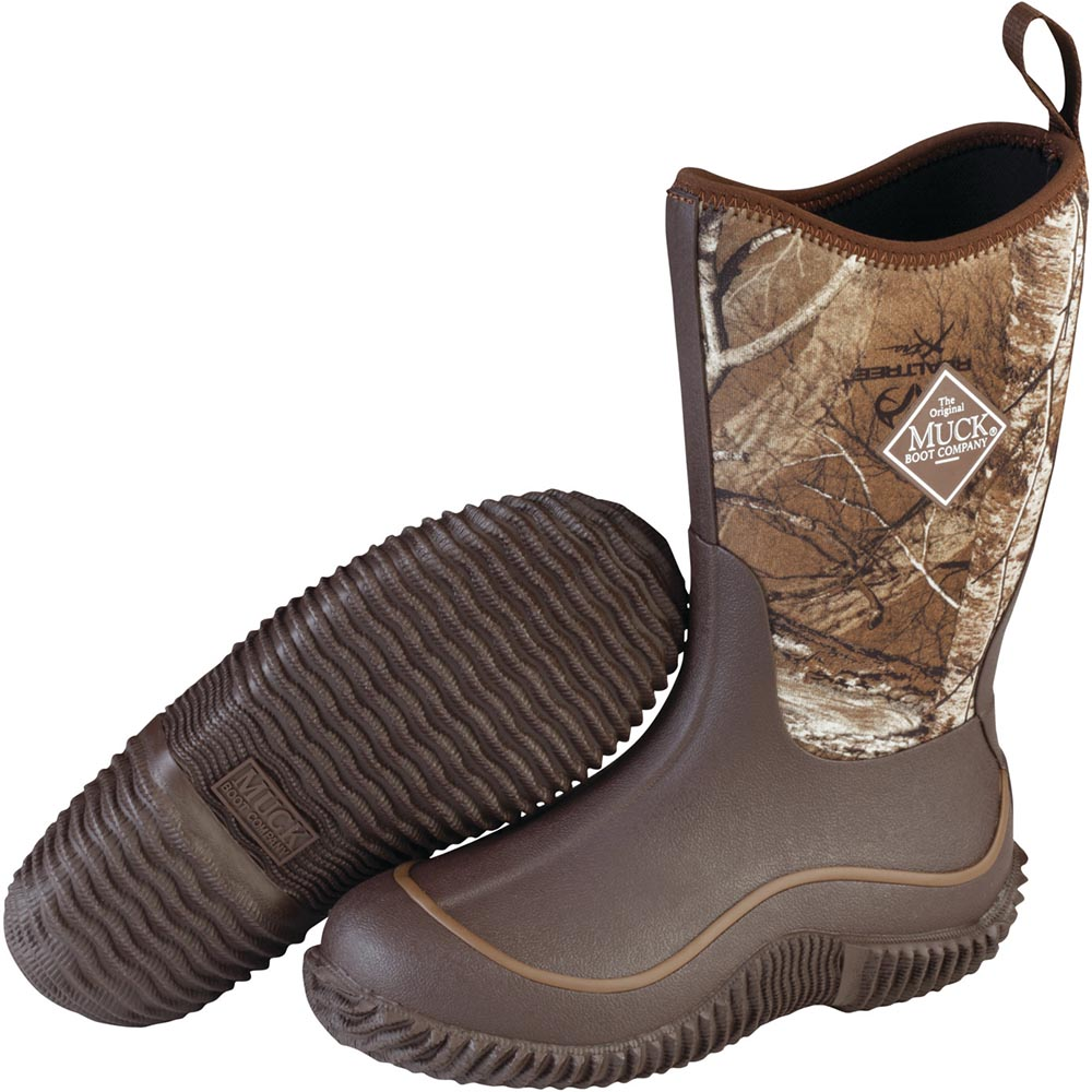 Muck Kid's Hale Boot, Brown / Rt Edge - KBH-RTE