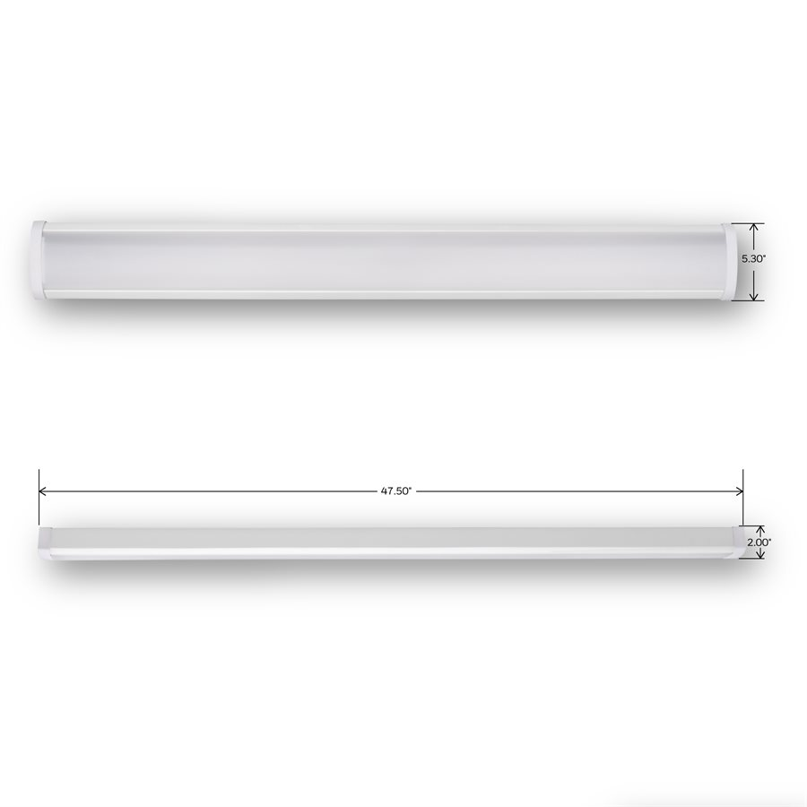 Honeywell 4' Linkable Wraparound LED Light, 4000 Lumen, KW140N843110