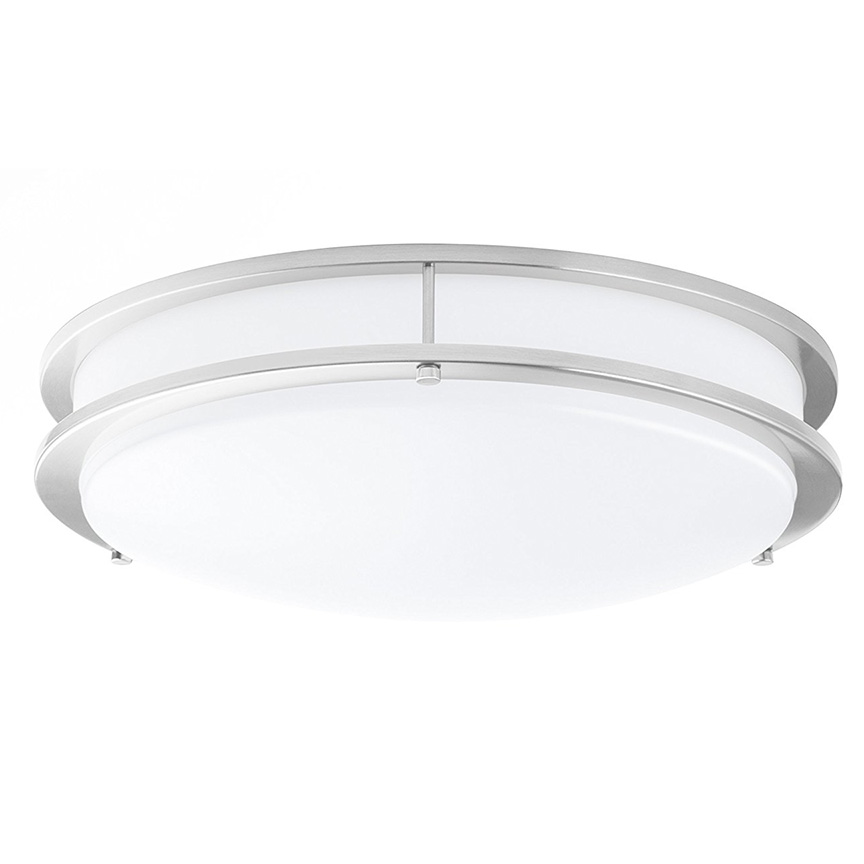Honeywell 15 in. Double Ring Dimmable Ceiling Light, 1500 Lumen, KW415D403110