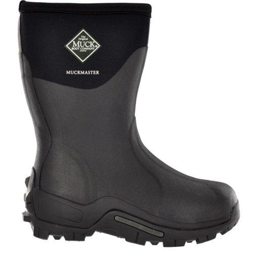 d363fe7b7f9 Muck Boot Muckmaster Commercial Grade Boot Mid, Black, MMM-500A