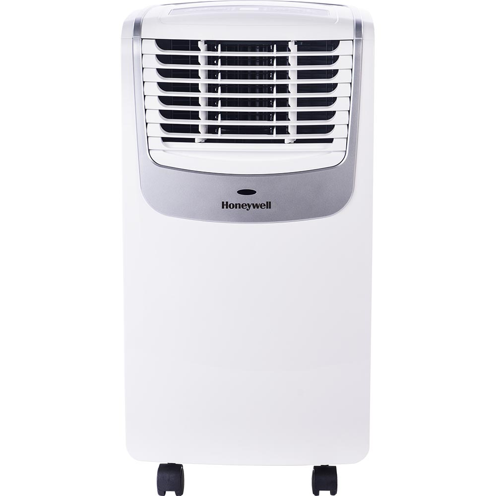 Honeywell MO10CESWS Compact Portable Air Conditioner with Dehumidifier and Fan (White/Silver)