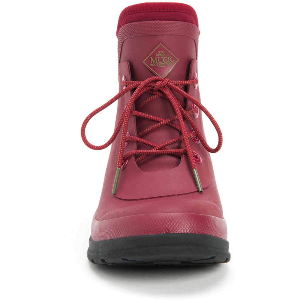 Muck Women's Originals Lace Up Boot, Berry - OLW-600
