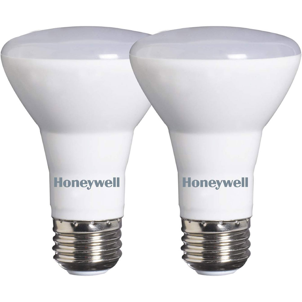 honeywell r20 led flood lights 45w equivalent dimmable 2 pack