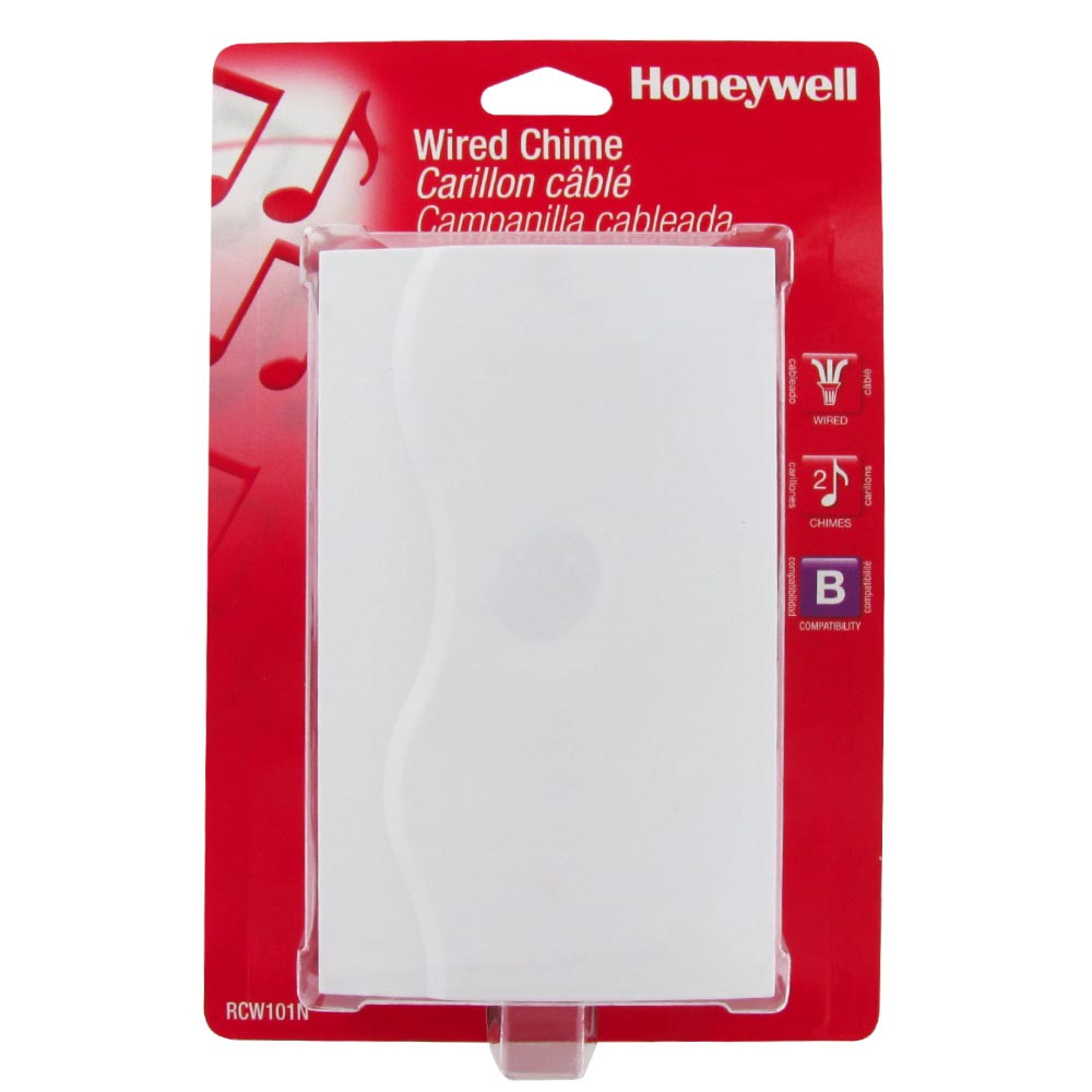 honeywell powered door chime white finish