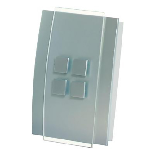 Honeywell Decor Wired Door Chime with Brushed Nickel Cover, RCW3501N1004/N