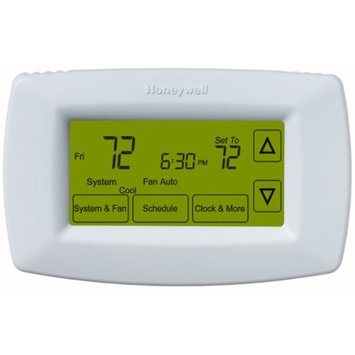 Honeywell Ret97c0d1005 U Touchscreen 7 Day Programmable