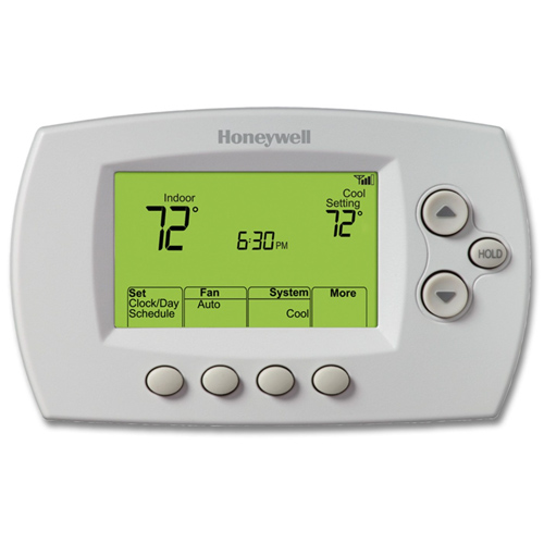 Honeywell Wi-Fi Programmable Thermostat with Remote Viewing - RET97E5D1005/U | Honeywell Store