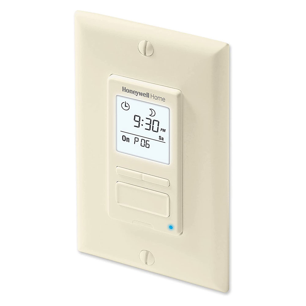 rpls541a1001 u econo switch programmable light switch timer almond. Black Bedroom Furniture Sets. Home Design Ideas