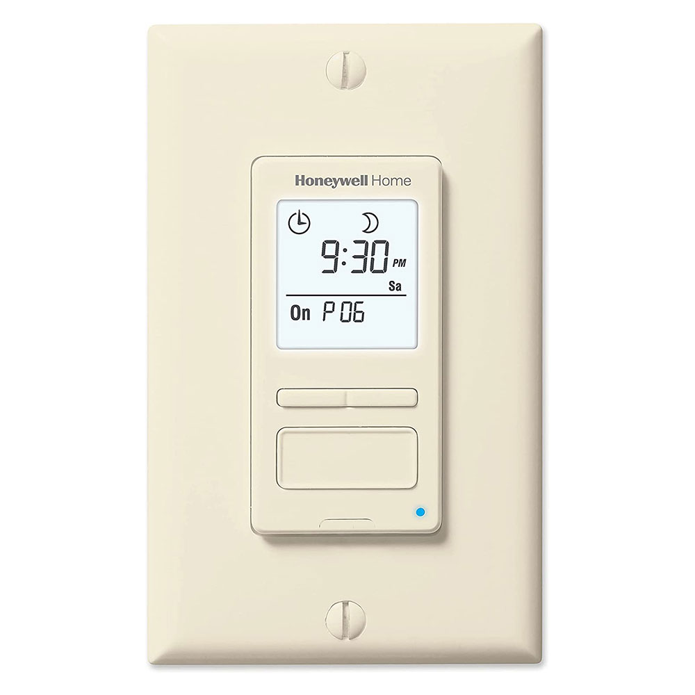 Honeywell Programmable Light Switch Timers Automatic Lights And 7 Day Programmable Light Switch Timers Honeywell Rpls541a1001 U Econoswitch Programmable Light Switch Timer Almond Honeywell Store